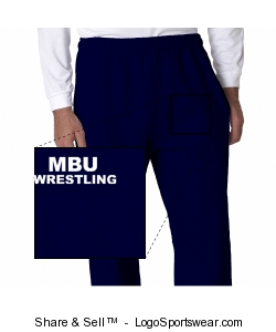 Champion Sweat Pants Open legged Design Zoom
